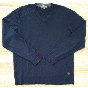 Smartwool Mens Kiva Ridge Blue Sweater Size Large